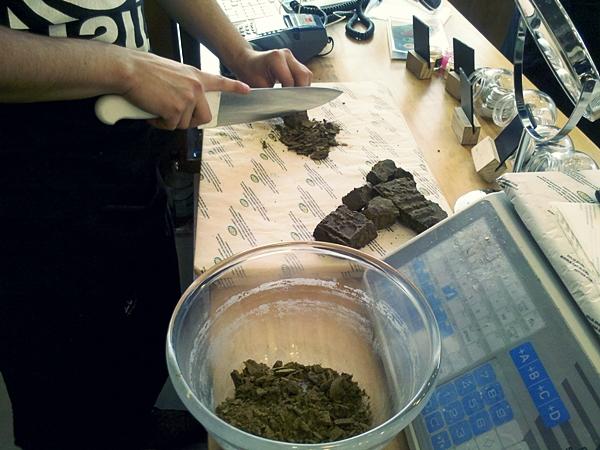 Preparando la henna