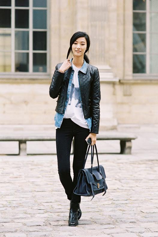 Igual un poco de jeans no puede faltar