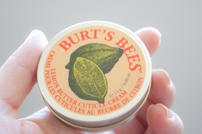 Lemon butter para cutículas de Burt'sBee