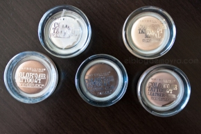 """Sombras en crema """"Color Tattoo"""" deMaybelline"""