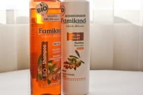 """Shampoo & acondicionador """"Argán Therapy"""" deFamiland*"""