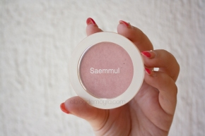 "the SAEM Saemmul Single Blusher en ""CR01 Naked Pitch"""