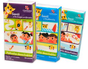 Difusión: Salcobrand lanza pañuelos desechables en beneficio de los niños deCoaniquem