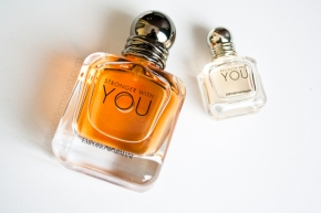 "Difusión + Primeras Impresiones: Emporio Armani ""Because of You"" & ""Stronger with You""*"