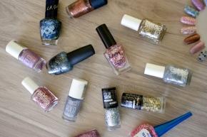 Mis esmaltes con glitter (favoritos ytips)